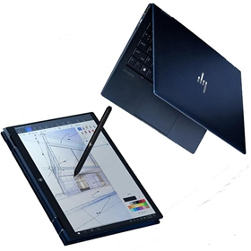 Máy tính xách tay/ Laptop HP Elite Dragonfly (SSD1TB) (6FW25AV) (i7-8565U)