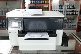 Máy in HP OfficeJet Pro 7720 Wide Format All-in-One Printer  Kèm hệ thống mực in liên tục 400ML